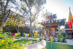 Jardim do mundo do mundo Flora Exposition de Taichung fotos de stock royalty free