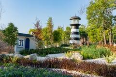 Jardim do mundo do mundo Flora Exposition de Taichung foto de stock