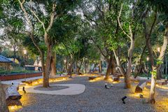 Jardim do mundo do mundo Flora Exposition de Taichung foto de stock royalty free