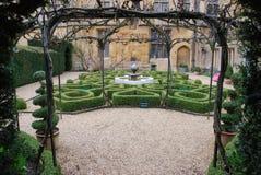 Jardim do nó do Topiary Fotografia de Stock