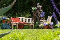 Jardim do país Fotos de Stock Royalty Free