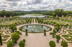 Jardim do palácio de Versalhes em Paris - França Imagem de Stock Royalty Free