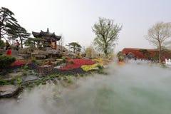 Jardim do Pequim no Pequim 2019 hort?cola internacional da exposi??o China fotografia de stock