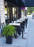 Jardim do restaurante Foto de Stock Royalty Free