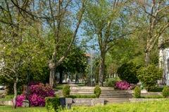 Jardim do ` s de Carmo em Guimaraes Fotos de Stock Royalty Free
