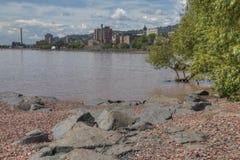 Jardim do ` s de Duluth no verão foto de stock