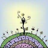 Jardim do Sun Imagens de Stock Royalty Free