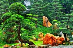 Jardim do zen Fotografia de Stock