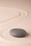 Jardim do zen da meditação da harmonia e do equilíbrio Imagem de Stock