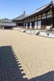 Jardim do zen de Shitennoji Fotos de Stock