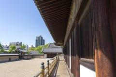 Jardim do zen de Shitennoji Imagens de Stock Royalty Free