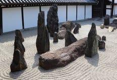 Jardim do zen em Kyoto Fotografia de Stock