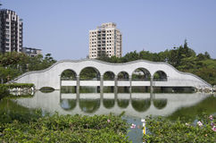 Jardim do zen em Taiwan Imagens de Stock Royalty Free