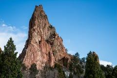 Jardim dos deuses Colorado Springs Fotografia de Stock Royalty Free
