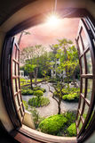 Jardim dos sonhos fotos de stock