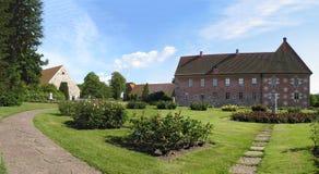 Jardim e palácio de Krapperup Foto de Stock