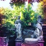 Jardim em Itália imagem de stock