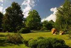 Jardim ensolarado do verão Imagem de Stock Royalty Free