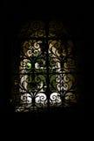 Jardim escondido atrás da porta Imagens de Stock