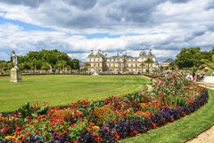 Jardim fa Luxemburgo Parigi Immagine Stock Libera da Diritti