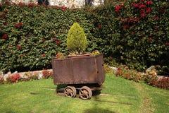Jardim Guanajuato México do carro de mineração do minério Fotografia de Stock