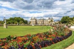 Jardim hace Luxemburgo París Imagen de archivo libre de regalías