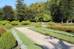 Jardim hace Palacio de - Oporto - Portugal cristal Foto de archivo libre de regalías