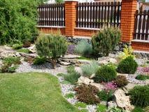 Jardim Home Fotos de Stock