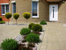 Jardim Home Imagens de Stock Royalty Free
