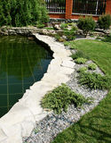 Jardim Home Imagem de Stock Royalty Free