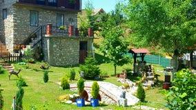 Jardim home da jarda Fotografia de Stock