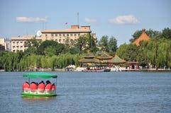 Jardim imperial de Beihai no Pequim Foto de Stock Royalty Free
