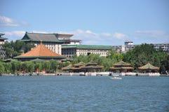 Jardim imperial de Beihai no Pequim Imagens de Stock