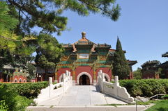 Jardim imperial de Beihai no Pequim Fotografia de Stock Royalty Free