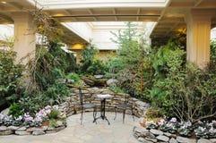 Jardim interno Fotografia de Stock Royalty Free