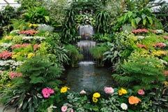 Jardim interno fotos de stock