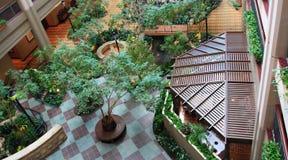 Jardim interno Fotografia de Stock