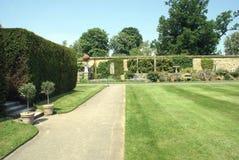 Jardim italiano do castelo de Hever em Inglaterra fotografia de stock royalty free