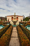 Jardim italiano em Hamilton Gardens imagem de stock