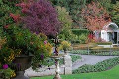 Jardim italiano na queda Imagem de Stock