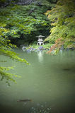 Jardim japonês. Foto de Stock Royalty Free