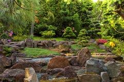 Jardim japonês 3 foto de stock