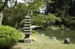 Jardim japonês Fotografia de Stock Royalty Free