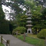 Jardim japonês imagem de stock