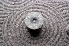 Jardim japonês do zen Imagem de Stock