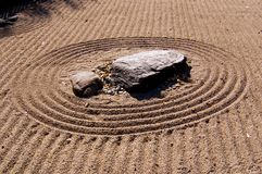 Jardim japonês do zen Fotografia de Stock