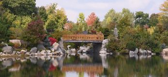Jardim japonês em América fotografia de stock royalty free