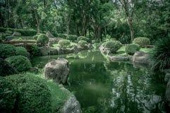 Jardim japonês em Colomos México fotos de stock royalty free