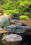 Jardim japonês tradicional Fotografia de Stock