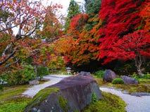 Jardim japon?s fotografia de stock